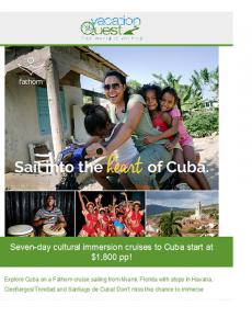 cuba cruise flyer