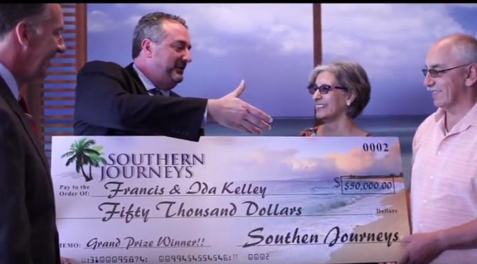 Southern Journeys 2017 $50,000 Grand Prize Winner!!!